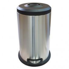 Ведро для мусора Санакс 10117 с доводчиком и с утрамбовочным механизмом, 40л