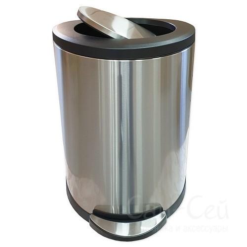 Ведро для мусора Санакс 10118, с доводчиком, 45 литров