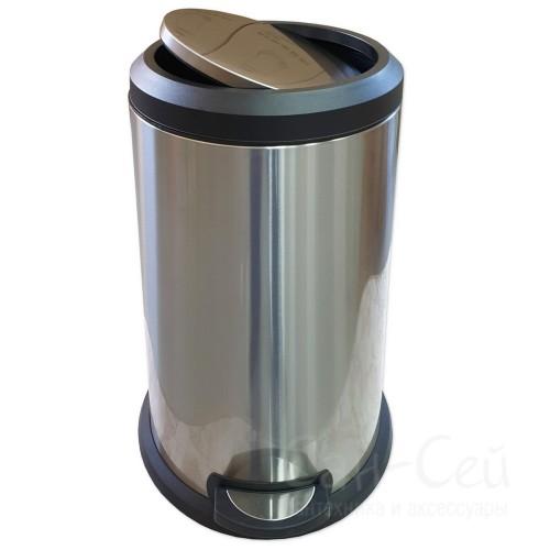Ведро для мусора Санакс 10120, с доводчиком, 40 литров