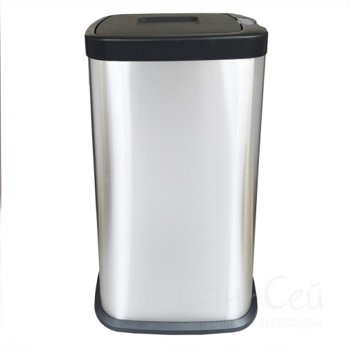 Ведро для мусора Санакс 11238, 38 литров, нержавейка
