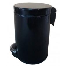 Урна Binele Lux WP30LB, 30л, педаль, черная