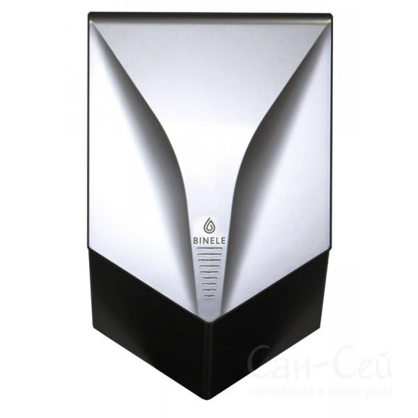 Сушилка для рук Binele V-Turbo AH01PS высокоскоростная, пластик, серебряная AH01PS