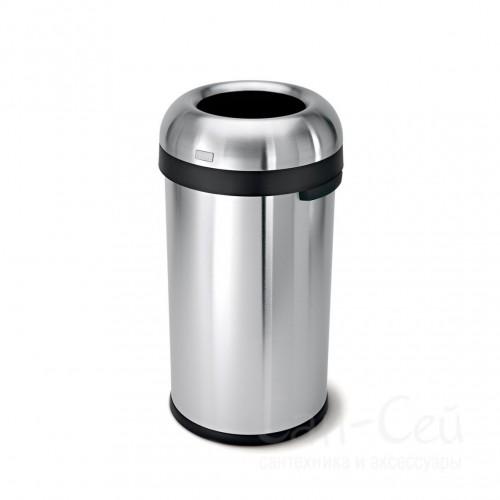 Контейнер для мусора Simplehumor CW1471-SH, 115 литров, круглый, матовый