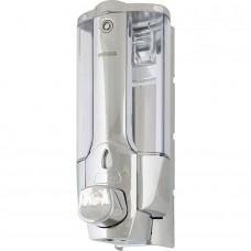 Дозатор для жидкого мыла пластиковый CONNEX ASD-138S CHROMPLATE 0,38л.