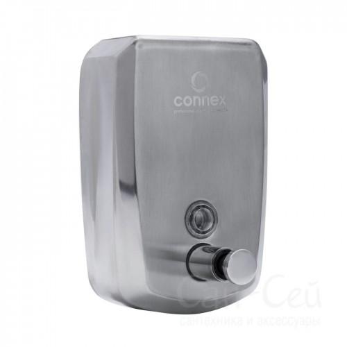 Дозатор для жидкого мыла Connex SS-800 матовый, 0,8 литра