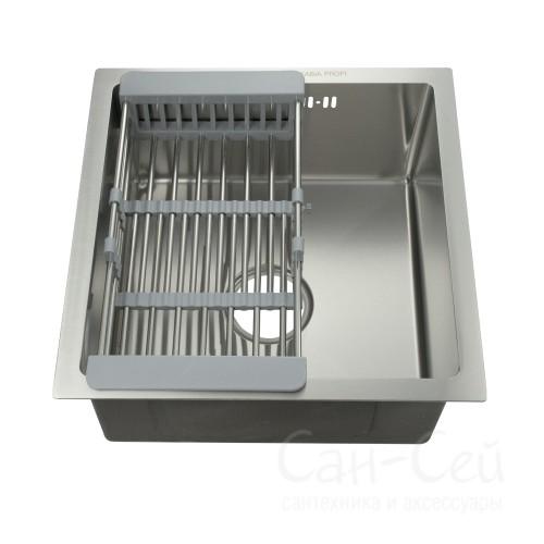 Мойка для кухни FABIA PROFI врезная, 47453