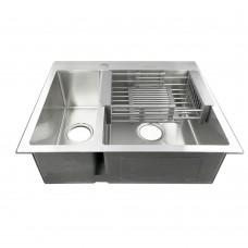Мойка для кухни FABIA PROFI 61513, двойная