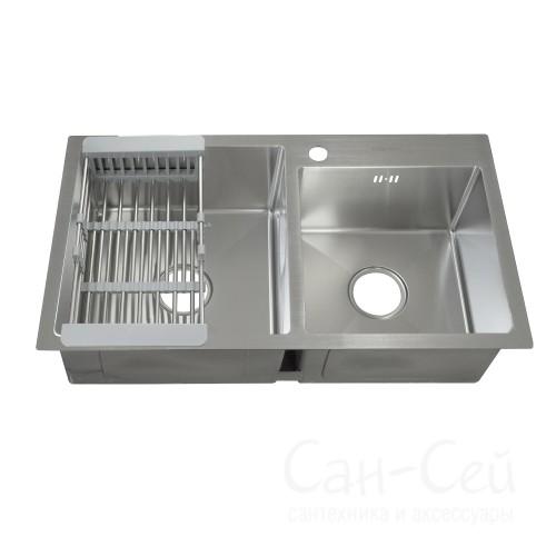 Мойка для кухни FABIA PROFI двойная 78433