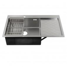 Мойка для кухни FABIA PROFI врезная 80х50 левая 80503L