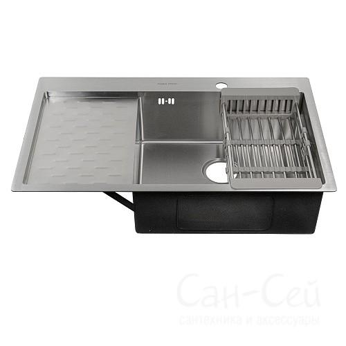 Мойка для кухни FABIA PROFI врезная 63х50 правая 63503R