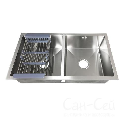 Мойка для кухни FABIA PROFI 805443, двойная
