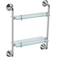 Полка FIXSEN FX-71622 BEST стеклянная двухэтажная