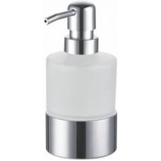 Дозатор для мыла с держателем FIXSEN KVADRO FX-128 настольный