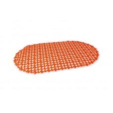 FIXSEN МА0127А Коврик для ванной овальный 1-ый (60х90см) (оранжевый)