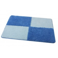 FIXSEN МА0601C Коврик для ванной 1-ый (50х70см) (синий-blue)