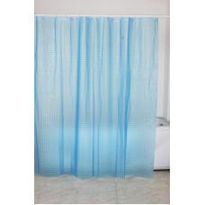 FIXSEN PE3003C Шторка для ванной (синяя-blue)