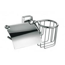 Держатель туалетной бумаги FIXSEN FX-61309+10 KVADRO с держателем дезодоранта