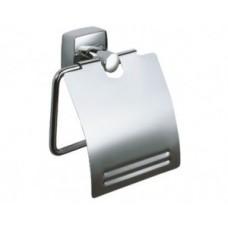 Держатель туалетной бумаги FIXSEN FX-61310 KVADRO с крышкой