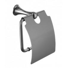 Держатель для туалетной бумаги с крышкой Lemark Standard (LM2134C)