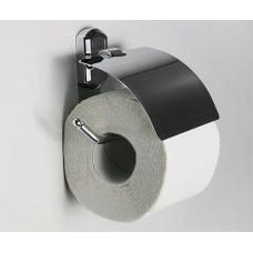 Держатель туалетной бумаги WasserKRAFT K-3025, с крышкой