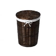 Корзина для белья с крышкой WasserKRAFT Еlbe WB-740-L плетеная