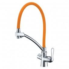 Смеситель Lemark Comfort LM3070C-Orange для кухни  с подключением к фильтру с питьевой водой