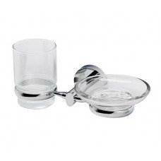 Держатель стакана и мыльницы WasserKRAFT K-6226