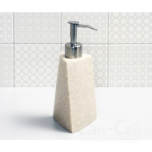 Дозатор для жидкого мыла WasserKRAFT Ohre K-37799, белый