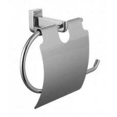 Держатель для туалетной бумаги с крышкой Lemark Omega (LM3134C)
