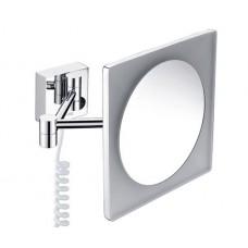Зеркало WasserKRAFT K-1008 настенное, увеличительное, с LED-подсветкой