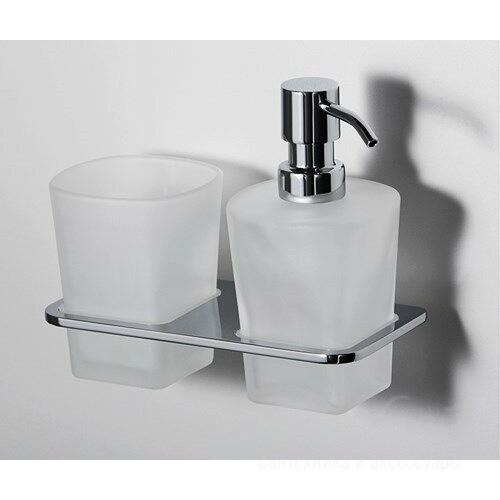Держатель стакана и дозатора WasserKRAFT К-5089