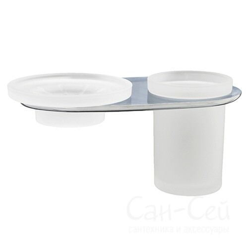 Держатель стакана и мыльницы WasserKRAFT Kammel K-8326