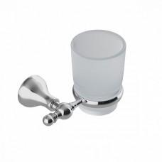 Подстаканник одинарный IDDIS Retro матовое стекло сплав металлов (RETSSG1i45)