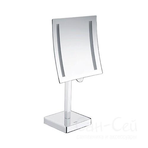Зеркало WasserKRAFT K-1007 увеличительное, с LED-подсветкой, двухстороннее