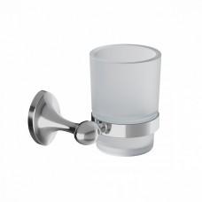 Подстаканник одинарный IDDIS Male матовое стекло сплав металлов (MALSSG1i45)
