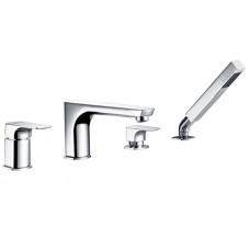 Смеситель на борт ванны WasserKraft Salm 2755, 4 отверстия
