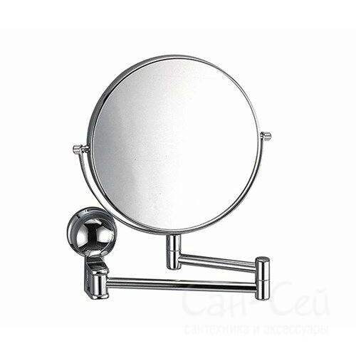 Зеркало WasserKRAFT K-1000, двухстороннее, увеличительное