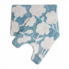 Набор ковриков для ванной комнаты IDDIS Promo 45*65 + 45*50 см микрофибра (P37M465i12)