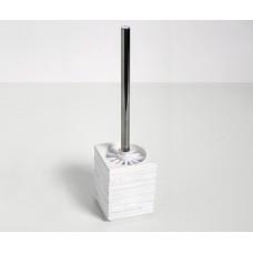 Щетка для унитаза WasserKRAFT Leine K-3827, белая