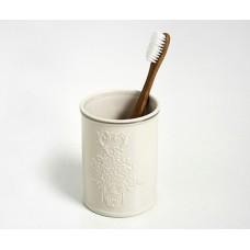 Стакан для зубных щеток WasserKRAFT Rossel K-5728, белый