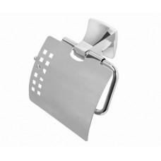 Держатель туалетной бумаги WasserKRAFT К-2525, с крышкой