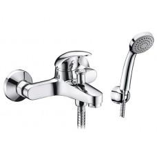 Смеситель для ванны WasserKRAFT Isen 2601, с коротким изливом