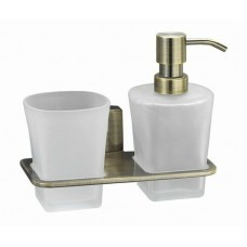 Держатель стакана и дозатора WasserKRAFT К-5289