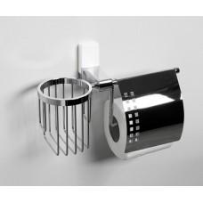 Держатель туалетной бумаги и освежителя WasserKraft Leine K-5059WHITE