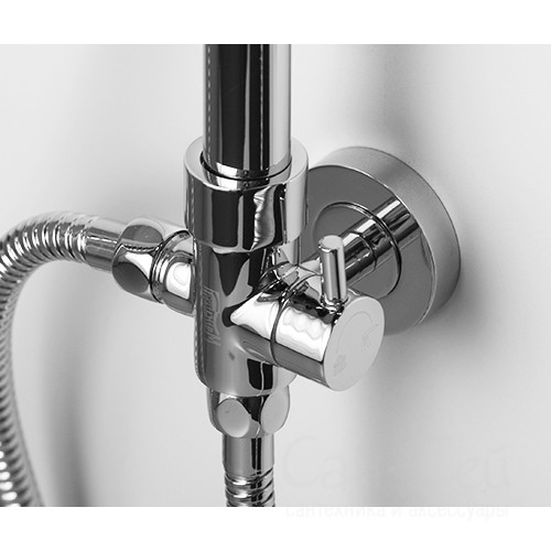 Душевой комплект WasserKRAFT A015, 104х52 см