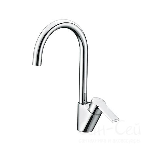 Смеситель для кухни WasserKRAFT Ammer 3707. с поворотным изливом