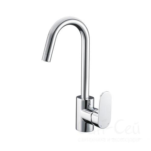 Смеситель для кухни WasserKRAFT Donau 5347, с поворотным изливом