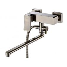 Смеситель для ванны WasserKRAFT Exter 1602L,  с длинным изливом