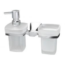 Держатель стакана и дозатора WasserKRAFT К-2589