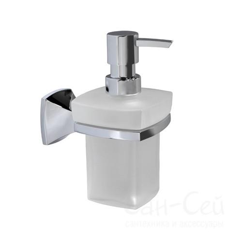 Дозатор для жидкого мыла  WasserKRAFT К-2599, стеклянный, 230 ml